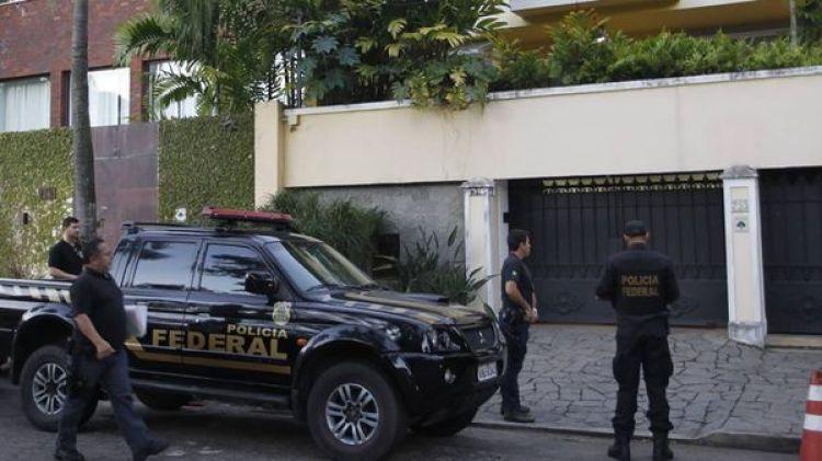 La operación se realiza en cooperación con autoridades de Francia y Estados Unidos
