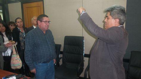 Posesión de Joaquín Rodríguez como presidente de ENDE