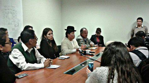 Reunión del equipo multidisciplinario por el caso de Nahomi