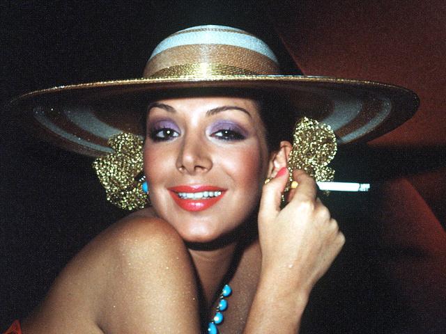 Virginia Vallejo de joven.