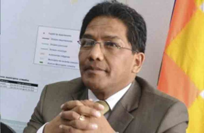 Resultado de imagen de El concejal del Movimiento Al Socialismo (MAS), Jorge Silva,