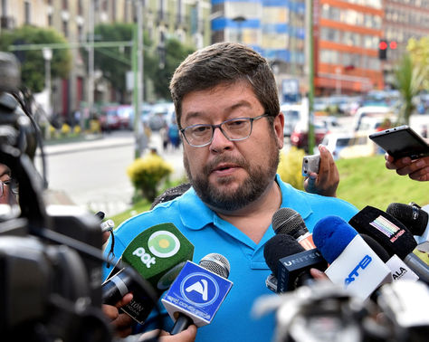 El líder de UD, Samuel Doria Medina. Foto: La Razón