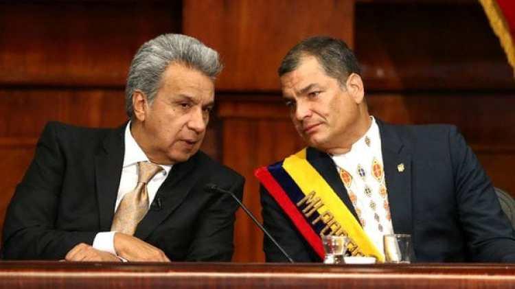 Otros tiempos: Lenín Moreno, cuando dependía del apoyo de Rafael Correa para llegar a la presidencia de Ecuador