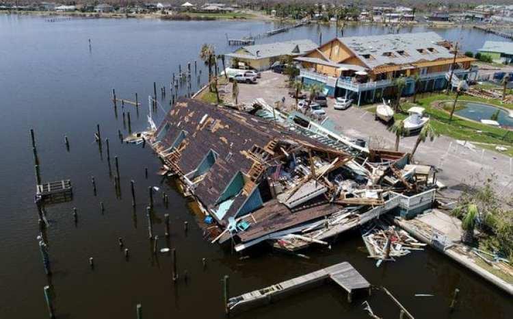 Daños causados por el huracán Harvey en Rockport, Texas (Reuters)