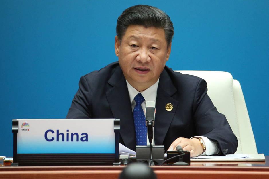 El presidente chino Xi Jinping durante la cumbre de los BRICS en Xiamen, el 5 de septiembre de 2017. (Reuters)