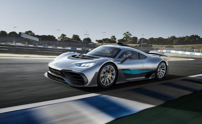 Mercedes-AMG revela el primer deportivo con motor híbrido de Fórmula 1