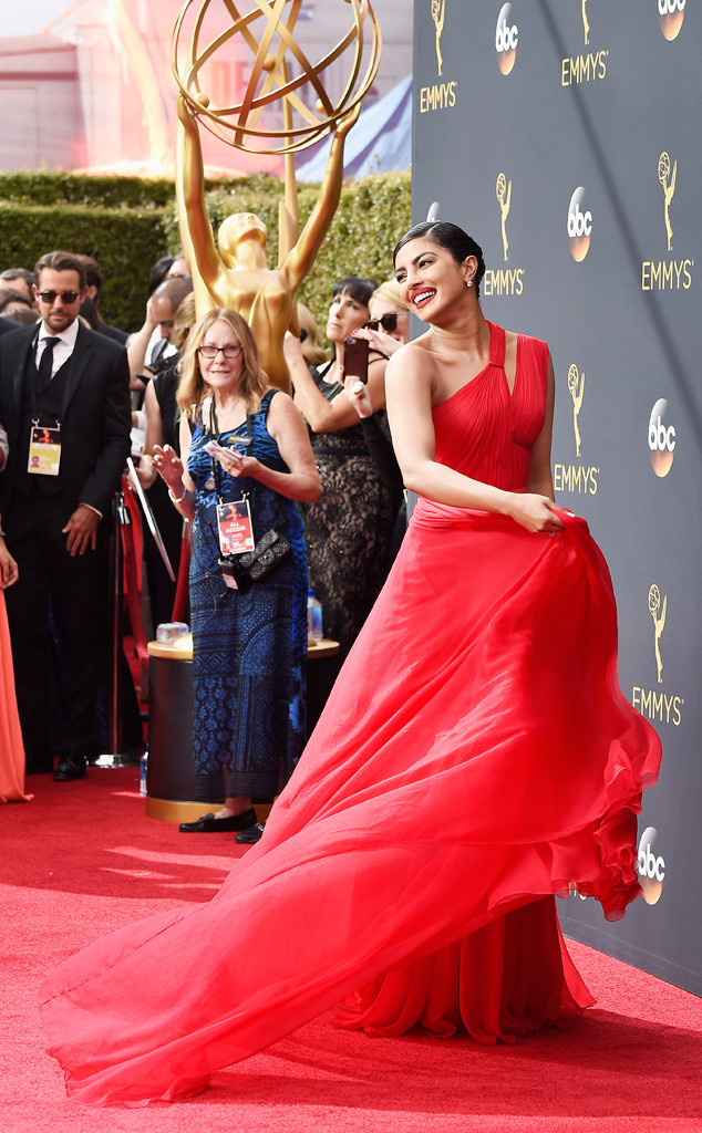 Priyanka Chopra, Emmy Awards 2016, Candid