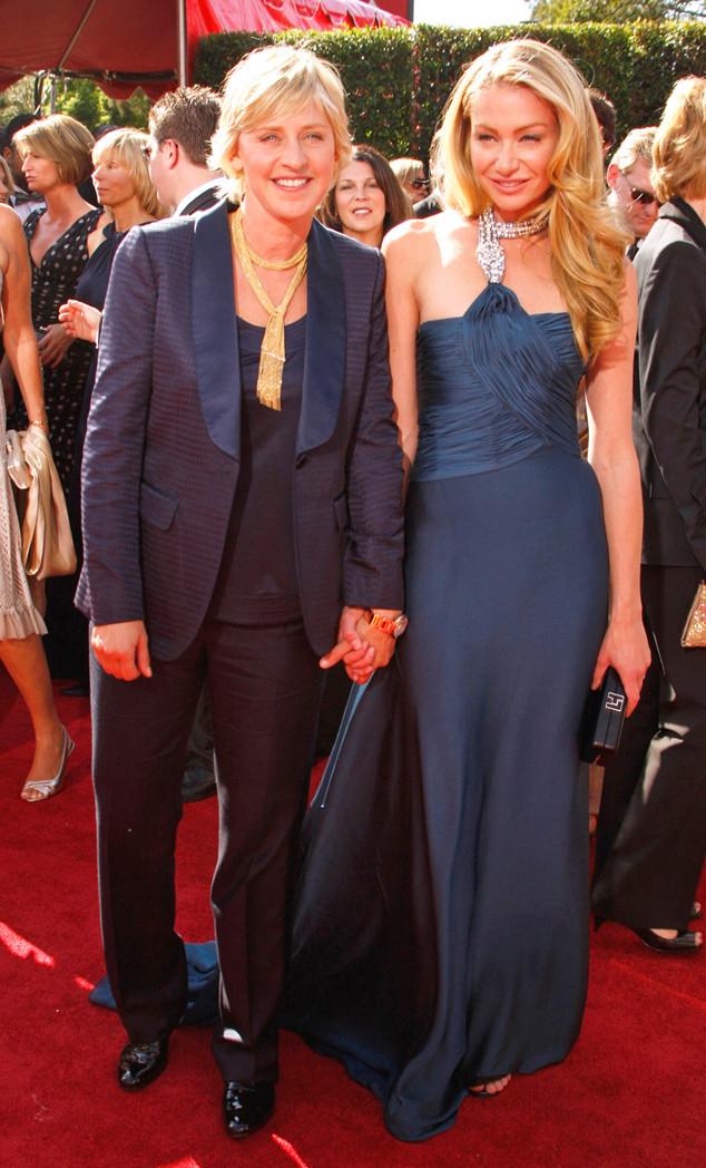 Ellen DeGeneres, Portia de Rossi, Emmy, 2007