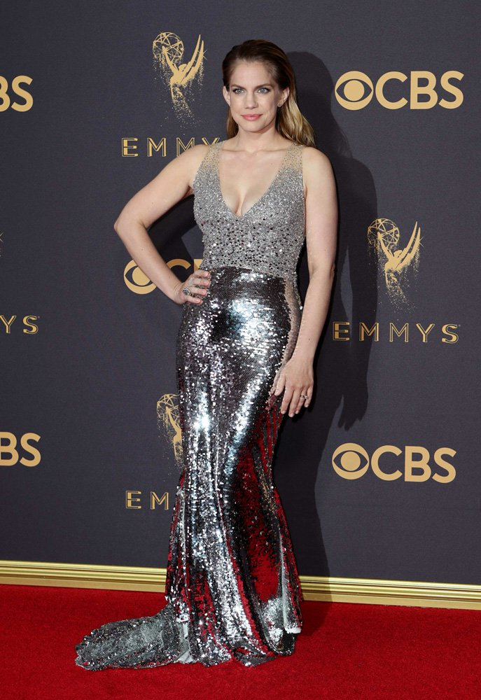69th Primetime Emmy Awards – Arrivals – Los Angeles, California, U.S., 17/09/2017 - Actress Anna Chlumsky. REUTERS/Mike Blake