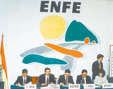 Ferrocarril. El exministro de capitalización Alfonso Revollo fue acusado por el caso ENFE