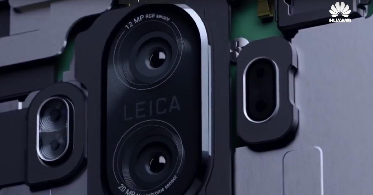 cámara dual Leica del Huawei Mate 10