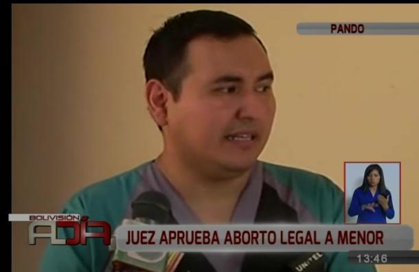 Juez aprueba en Pando el aborto legal para menor que fue violada