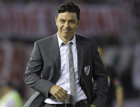 Marcelo Gallardo entrenador de River Plate. Foto: Archivo AFP