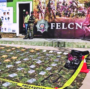 En La Paz confiscan casi un millón de dólares en cocaína