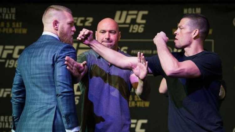 Conor McGregor y Nate Díaz ya pelearon en dos oportunidades en la UFC