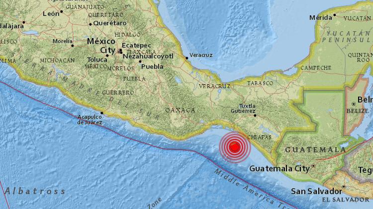 Un terremoto de magnitud 5,7 sacude México