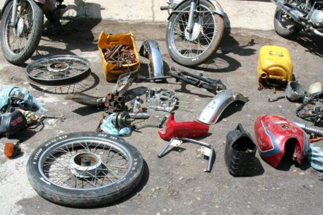 Resultado de imagen de robo de motocicletas