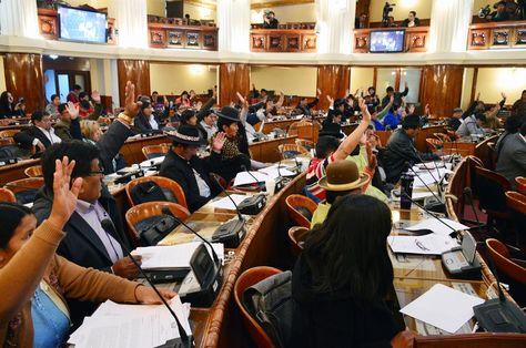 La sesión de la Cámara de Diputados que aprobó el ajuste al PGE de 2017. Fue este jueves.