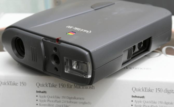 Apple QuickTake, las cámaras de fotos que nadie recuerda