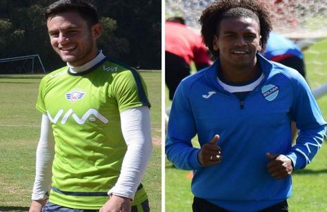Fernando Saucedo (izq.) y Leonel Morales, convocados a la selección