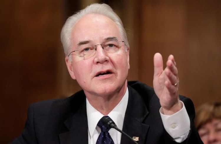 El candidato a secretario de Salud y el discutido Obamacare (Reuters)