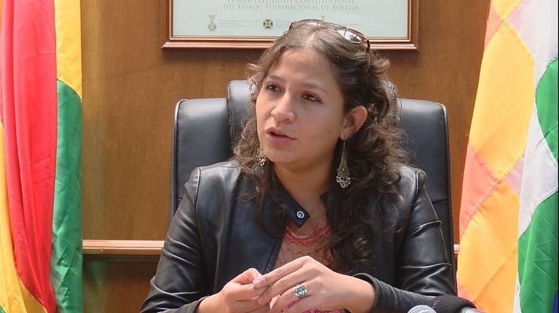 Resultado de imagen de La ministra de Salud, Ariana Campero