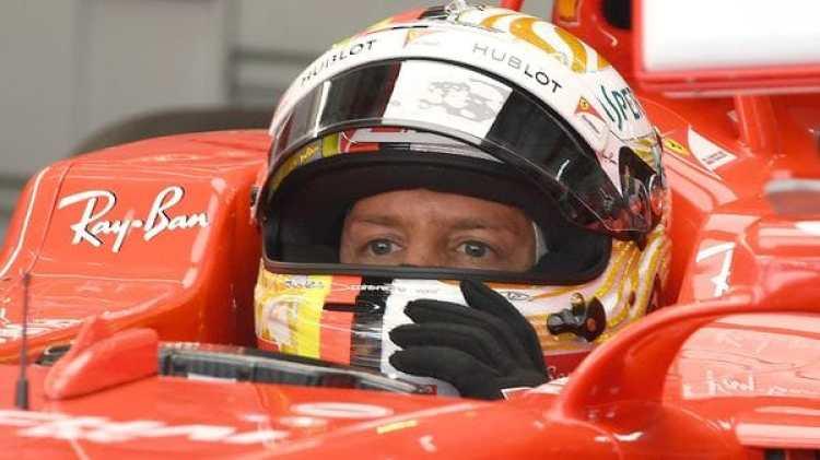 Sebastian Vettel partirá desde el último lugar en el Gran Premio de Malasia (AFP)
