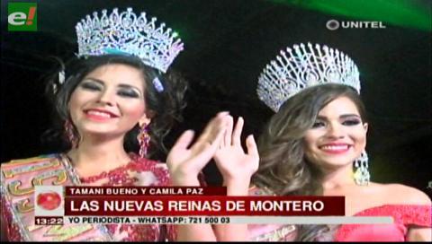 Montero eligió a sus representantes de belleza