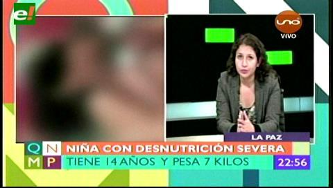 La totalidad de los gastos médicos de niña con desnutrición severa serán cubiertos por el Estado