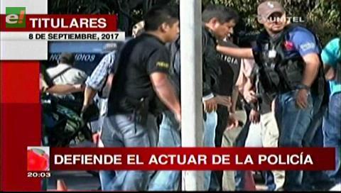 Video titulares de noticias de TV – Bolivia, noche del viernes 8 de septiembre de 2017