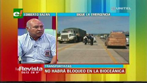Transporte interprovincial se mantiene en emergencia pese a la suspensión del bloqueo
