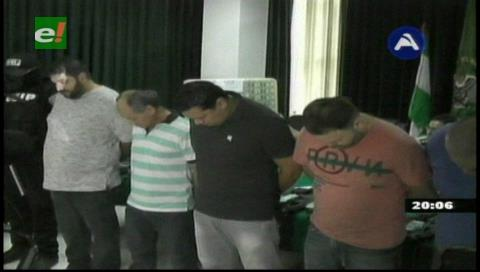 Encarcelan a 9 integrantes de una banda de traficantes de armas