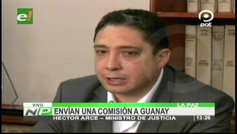 El Gobierno envía una comisión a Guanay por el caso de Naomi