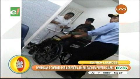 Soldado denunció que fue agredido por un coronel del Ejército
