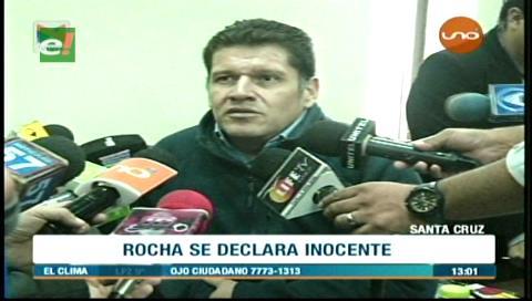 Ariel Rocha se declara inocente del caso extorsión
