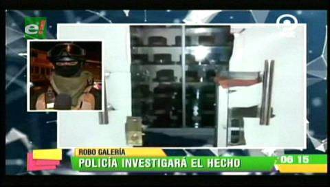 La Paz: Atrapan a ladrón que pretendía robar en la galería Shangai de sombreros