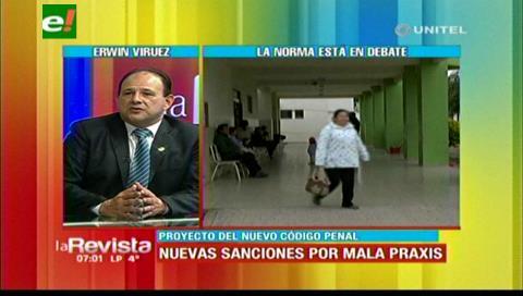 Médicos en emergencia, rechazan la penalización por realizar mala praxis