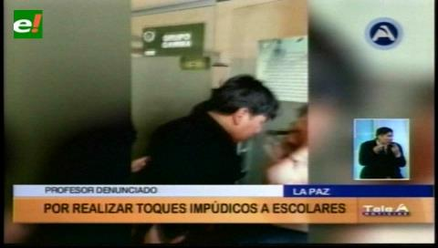La Paz: Aprehenden a profesor acusado de realizar toques impúdicos a seis alumnas