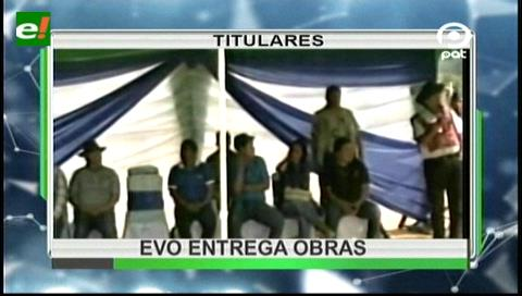 Video titulares de noticias de TV – Bolivia, noche del jueves 21 de septiembre de 2017
