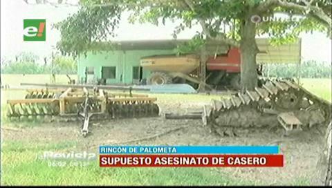 Policía investiga supuesto asesinato de un casero en Rincón de Palometas