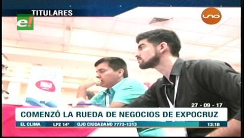Video titulares de noticias de TV – Bolivia, mediodía del miércoles 27 de septiembre de 2017