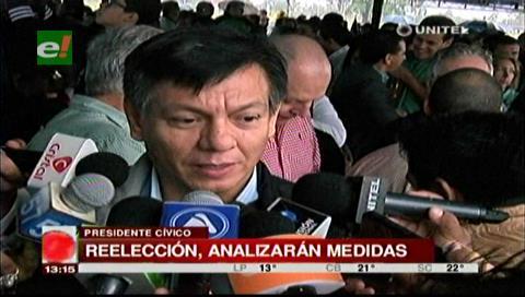 Cuéllar critica la marcha cívica nacional contra la reelección de Morales