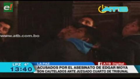 Piden que los asesinos de Edgar Moya sean encarcelados en Chonchocoro y San Pedro