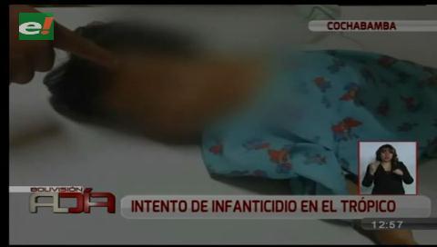 Niña fue lanzada desde un primer piso por su padre