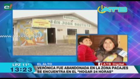 Abandonaron a una niña con autismo en El Alto
