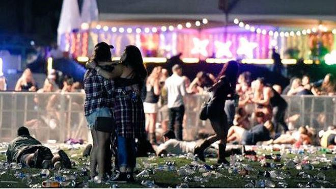 Resultado de imagen de El Estado Islámico reivindica el tiroteo durante un concierto en Las Vegas