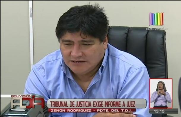 Tribunal de justicia exige informe a jueza que dio medidas sustitutivas a exmilitar