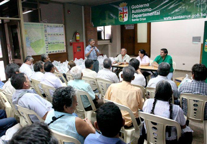 LA GOBERNACIÓN DE SANTA CRUZ DOTÓ DE VÍVERES Y OTROS INSUMOS A LOS BENEMÉRITOS DE LA GUERRILLA DE ÑANCAGUAZÚ.
