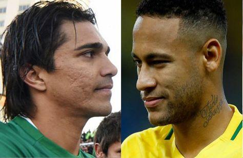 Marcelo Martins (izq.) y Neymar se verán las caras en el Hernando Siles.