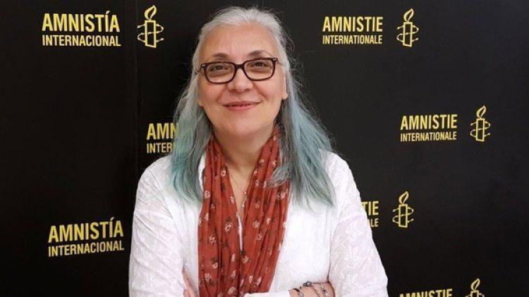 Idil Eser, directora de la oficina turca de Amnistía Internacional
